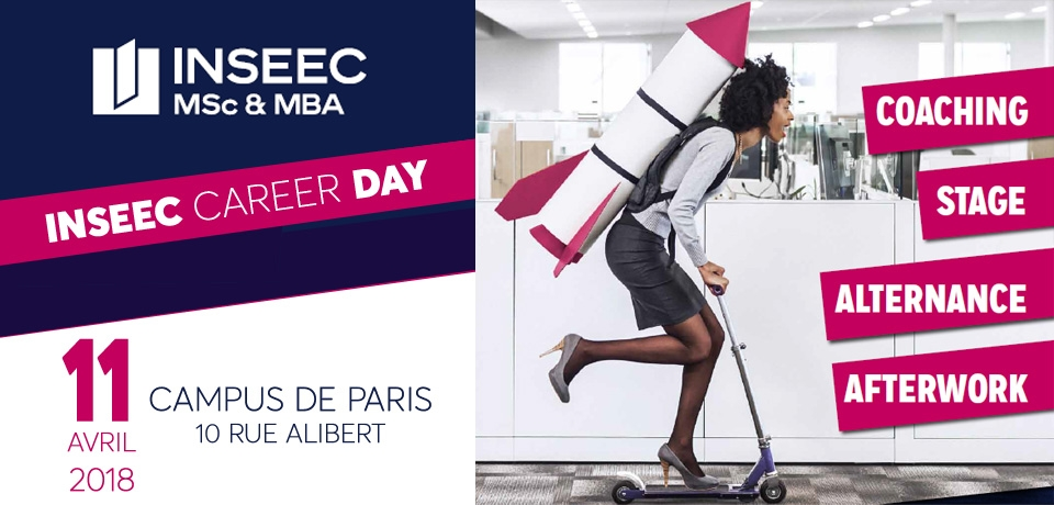 ASI participe à l'INSEEC Career Day le 11 avril 2018